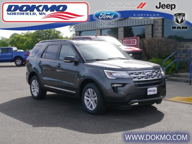 New 2019 Ford Explorer XLT 4WD SUV For Sale/Lease Northfield, MN