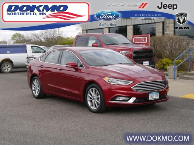New 2017 Ford Fusion SE FWD 5579 For Sale Northfield, MN