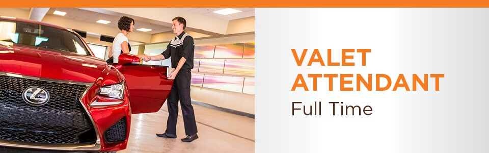 Valet Attendant Position Available at Dolan Auto Group in Reno NV