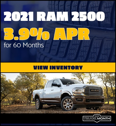 2021 Ram 2500- April Offer