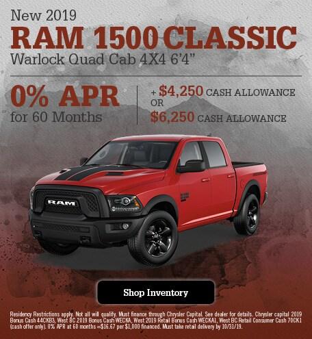 New 2019 Ram 1500 Classic Warlock Quad Cab 4x4 6'4