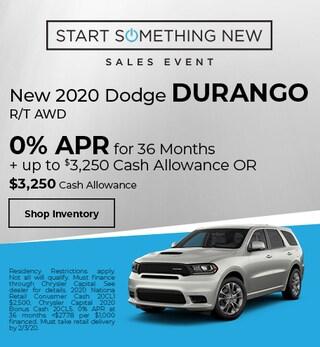 New 2020 Dodge Durango R/T AWD