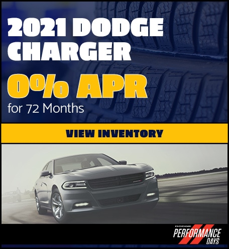 2021 Dodge Charger- April Offer