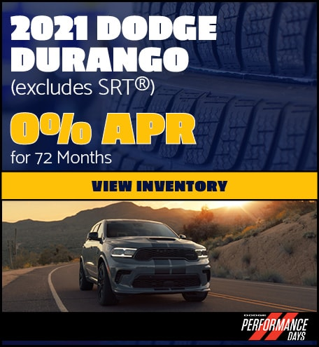 2021 Dodge Durango (excludes SRT®)- April Offer