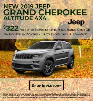 New 2019 Jeep Grand Cherokee Altitude 4x4