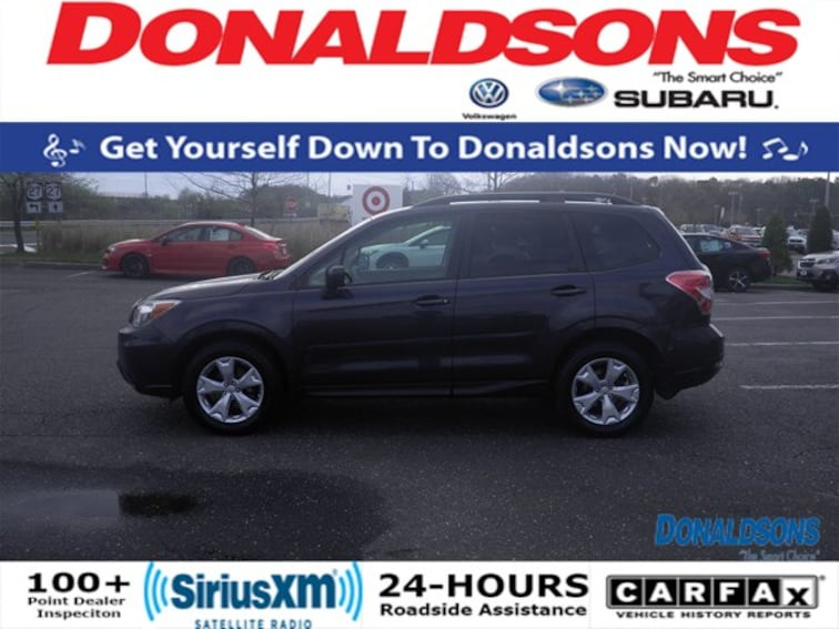Certified used 2015 Subaru Forester 2.5i Premium SUV in Sayville, NY