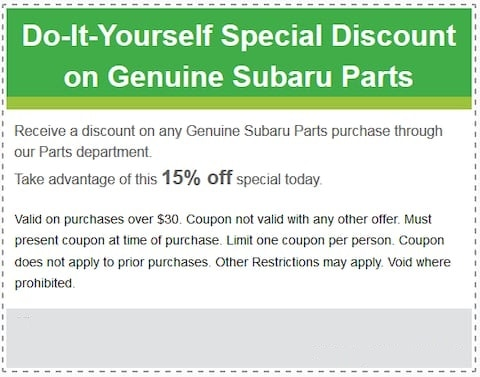 Do It Yourself Special Discount