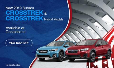 New 2019 Subaru Crosstrek & Crosstrek Hybrid Models