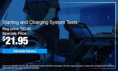 Starting and Charging System Tests