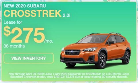 New 2020 Subaru Crosstrek 2.0i