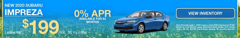 New 2020 Subaru Impreza