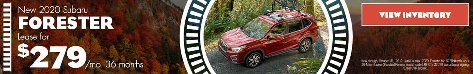 2020 Subaru Forester | Lease Offer | October