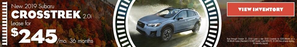 2019 Subaru Crosstrek | Lease Offer | October