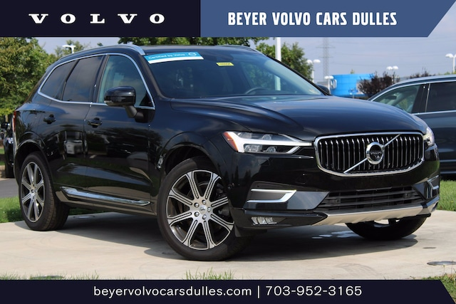 Featured used 2019 Volvo XC60 Inscription T6 AWD Inscription for sale in Dulles, VA