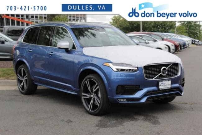 New 2019 Volvo XC90 T6 R-Design SUV for sale in Dulles, VA at Don Beyer Volvo