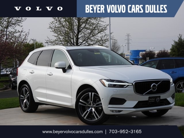 Featured used 2018 Volvo XC60 T6 Momentum Advanced, Vision SUV for sale in Dulles, VA