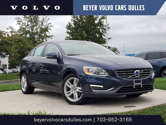 Featured used 2015 Volvo S60 T5 Premier Sedan for sale in Dulles, VA