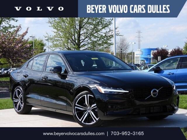 Featured used 2021 Volvo S60 T5 R-Design Sedan for sale in Dulles, VA