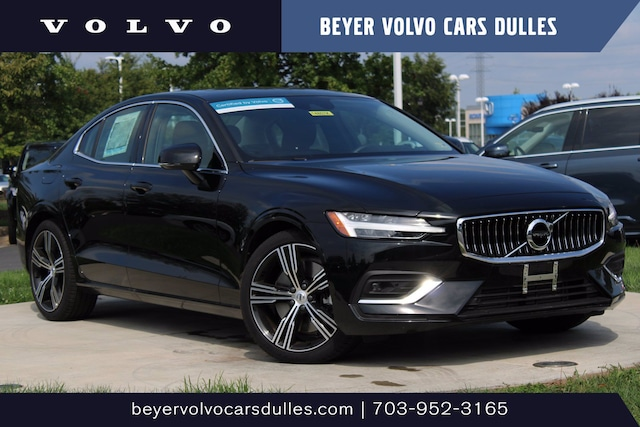 Featured used 2021 Volvo S60 Inscription T6 AWD Inscription *Ltd Avail* for sale in Dulles, VA