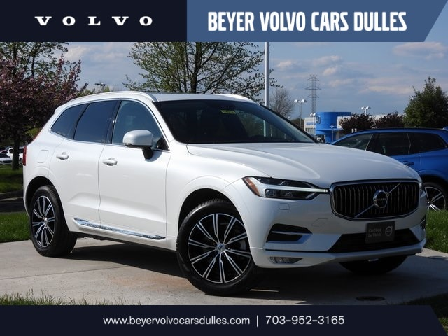Featured used 2020 Volvo XC60 T6 Inscription SUV for sale in Dulles, VA