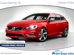 New 2017 Volvo V60 T6 AWD R-Design Platinum Wagon 297RD in Dulles VA