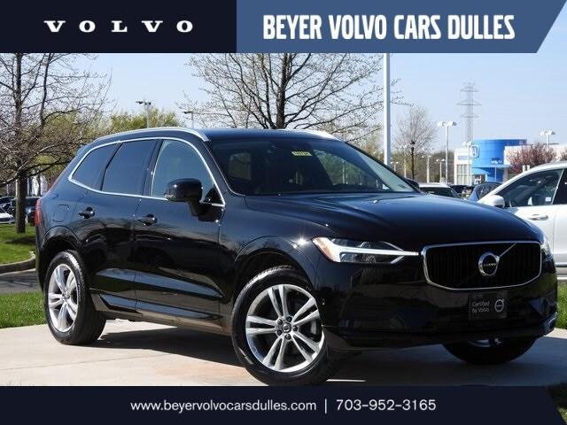Featured used 2019 Volvo XC60 T5 Momentum w/ Premium & Multimedia Pkg SUV for sale in Dulles, VA