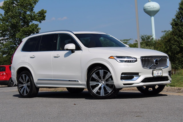 Featured Certified Pre-Owned 2021 Volvo XC90 Inscription Expression Recharge T8 eAWD PHEV Inscription Expression 7P for Sale in Winchester, VA