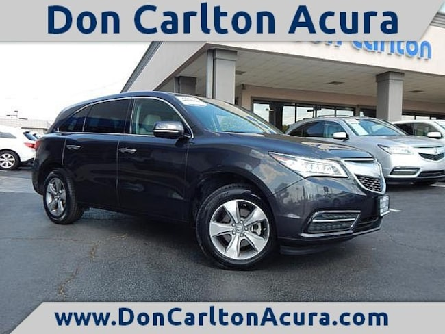 2015 Acura Mdx For Sale >> Used 2015 Acura Mdx For Sale At Don Carlton Acura Of Tulsa Vin