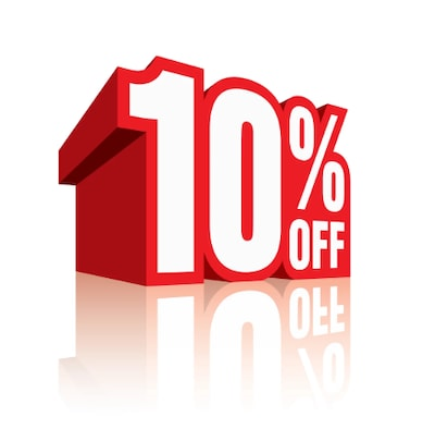 10 Percent Off Parts and Accessories!