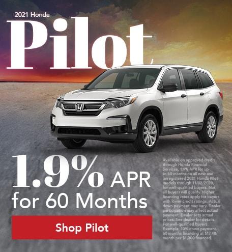 New 2021 Honda Pilot | APR