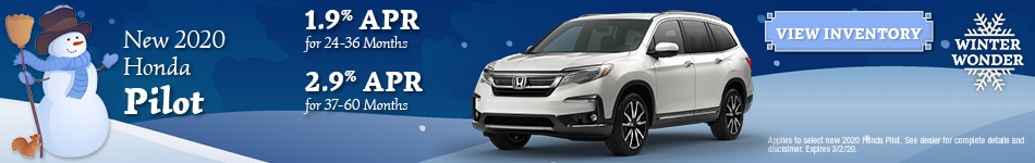 New 2020 Honda Pilot | APR