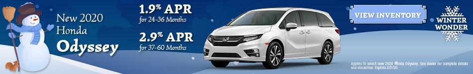 New 2020 Honda Odyssey | APR