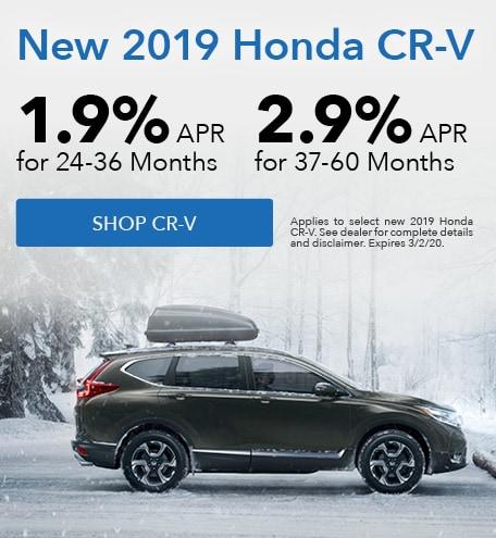 New 2019 Honda CR-V | APR