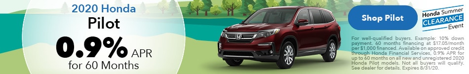 New 2020 Honda Pilot | 0.9% APR