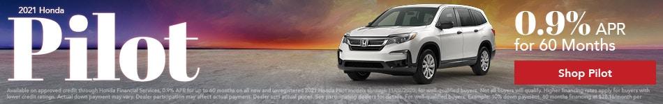New 2021 Honda Pilot | 0.9% APR