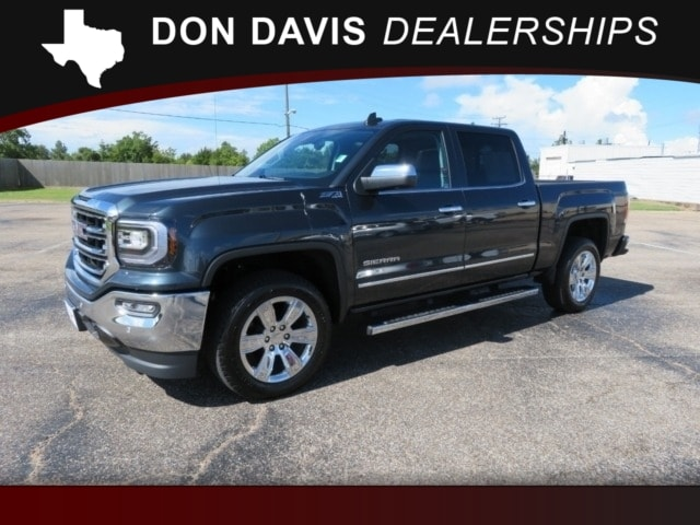 2018 GMC Sierra 1500 Crew Cab Short Box 4-Wheel Drive SLT Truck