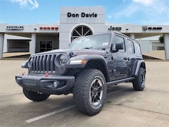 New 2021 Jeep Wrangler UNLIMITED RUBICON 4X4 Sport Utility For Sale in Lake Jackson, TX