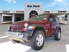 New 2021 Jeep Wrangler SPORT S 4X4 Sport Utility For Sale in Lake Jackson, TX