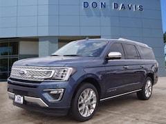 New 2019 Ford Expedition Max Platinum Platinum 4x2 Arlington, Texas