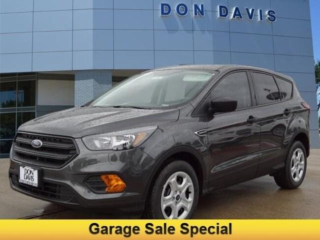 Don Davis Ford >> New 2019 Ford Escape For Sale Arlington Tx Vin