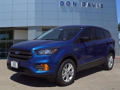 New 2019 Ford Escape S S FWD Arlington, Texas