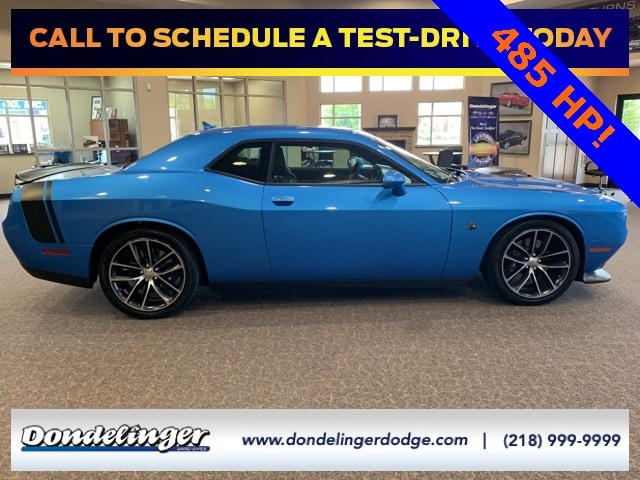 Used 2016 Dodge Challenger Scat Pack with VIN 2C3CDZFJ3GH234598 for sale in Grand Rapids, Minnesota