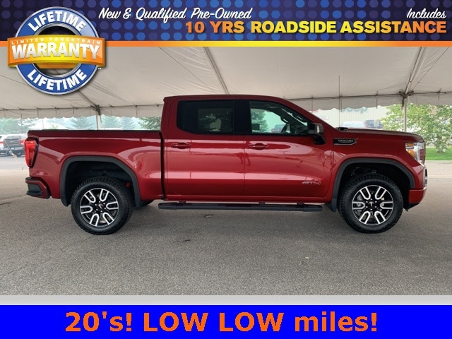Used 2020 GMC Sierra 1500 AT4 with VIN 1GTP9EED1LZ254295 for sale in Grand Rapids, Minnesota