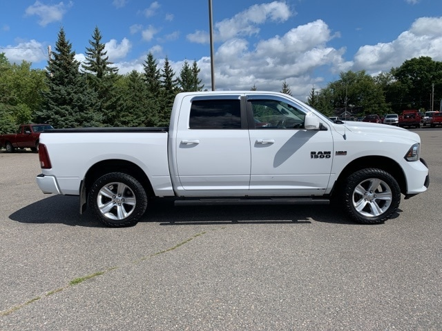 Used 2013 RAM Ram 1500 Pickup Sport with VIN 1C6RR7MTXDS507726 for sale in Grand Rapids, Minnesota