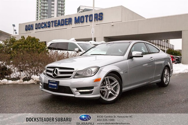 2012 Mercedes-Benz C250 Coupe LOW KMS! | Leather | Heated Seats Coupe