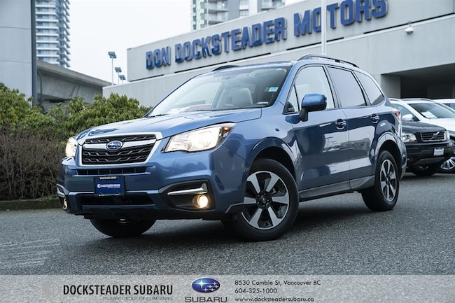 2018 Subaru Forester 2.5i  TOURING w/ EYESIGHT | CERTIFIED PRE-OWNED | SUV