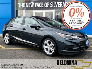 2018 Chevrolet Cruze LT Auto, Bluetooth, Back Up Camera, Heated Seats