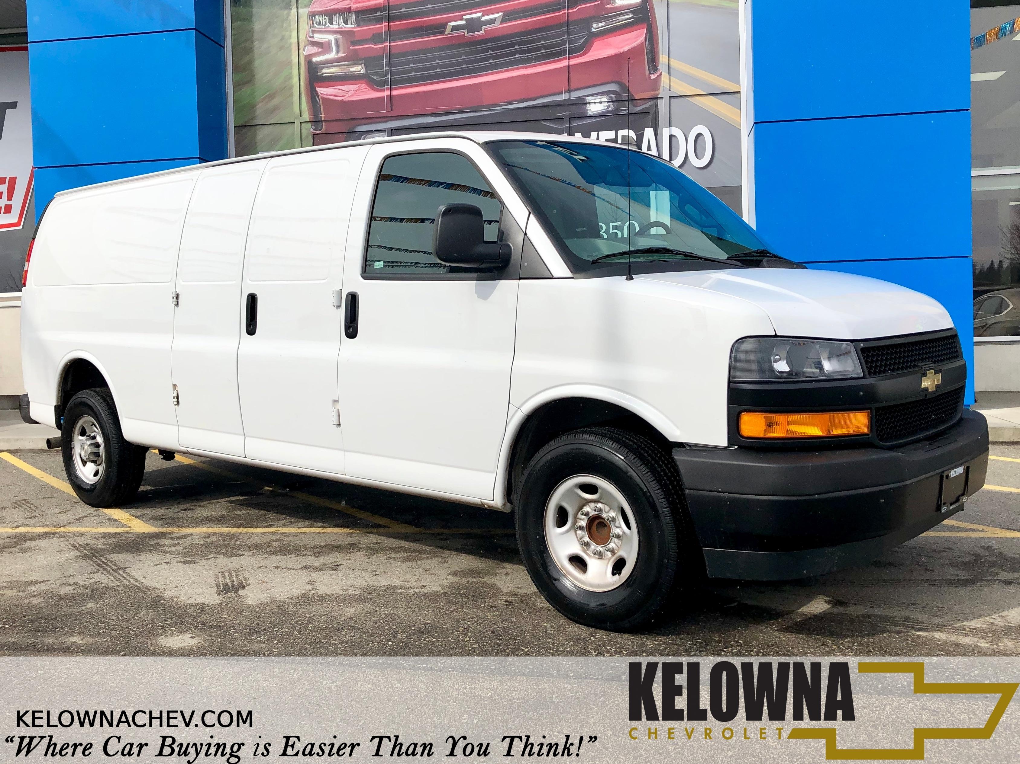 2018 Chevrolet Express 2500 Work Van RWD, Back Up Camera Extended Cargo Van