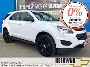 2017 Chevrolet Equinox LS FWD Bluetooth, Back up Camera SUV