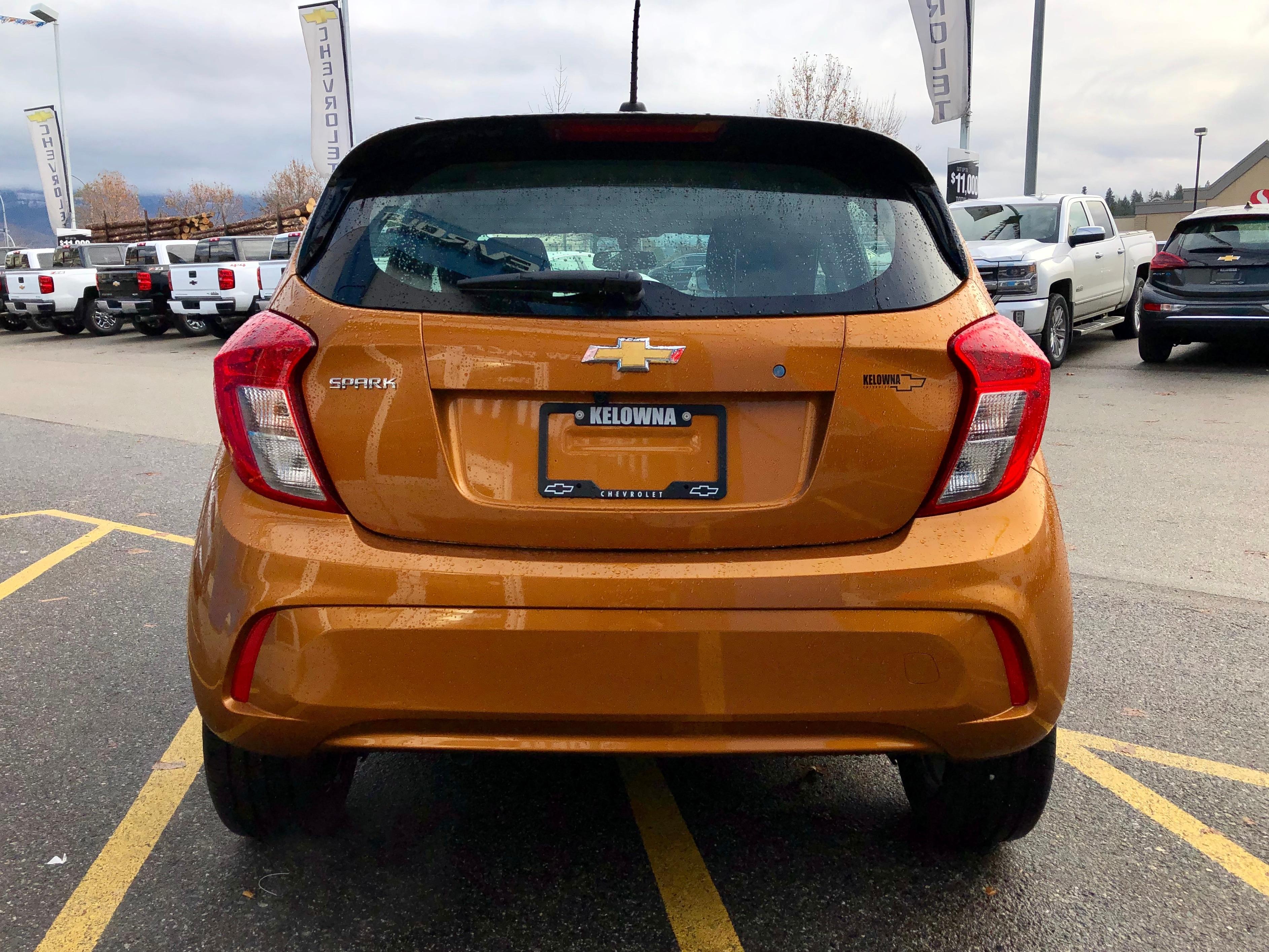 New 2019 Chevrolet Spark In Kelowna Bc At S Exterior Ls Cvt Hatchback